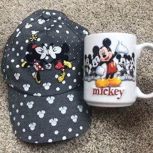 Disney Hat and Coffee Cup